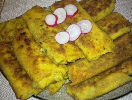 Przepis: Krokiety z pieczarkami i jajkiem