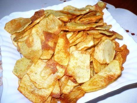Przepis: Domowe chipsy