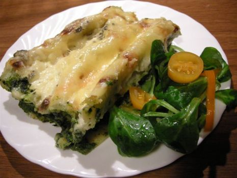 Przepis: Lasagne z cannelloni