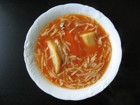 Przepis: Studencka zupa pomidorowa