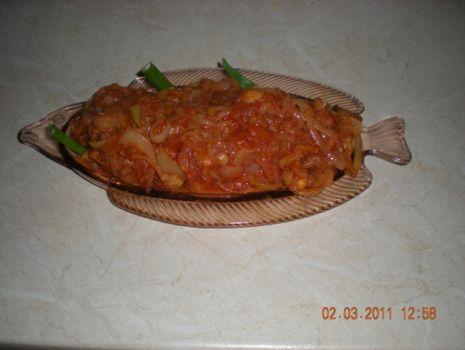 Przepis: Ryba w pomidorach
