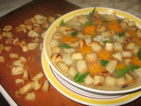 Przepis: Zupa krem z pieczarek wg.buciol78