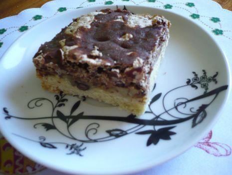 Przepis: Ciasto czekoladowo - orzechowe