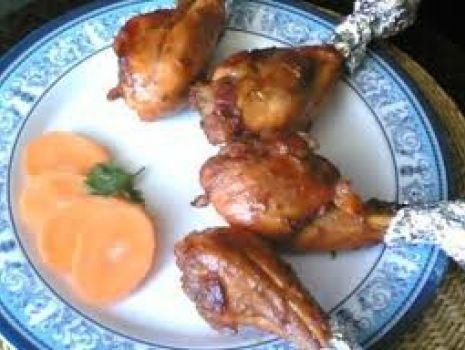 Przepis: Pieczone udka z kurczaka Ewy