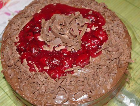 Przepis: Tort Czekoladowo-Wiśniowy