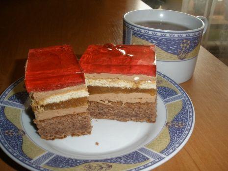 Przepis: Ciasto jabłkowo-czekoladowe