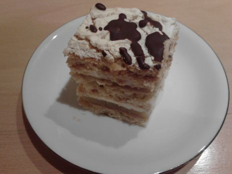 Przepis: Ciasto Jabłkowo-śmietankowe