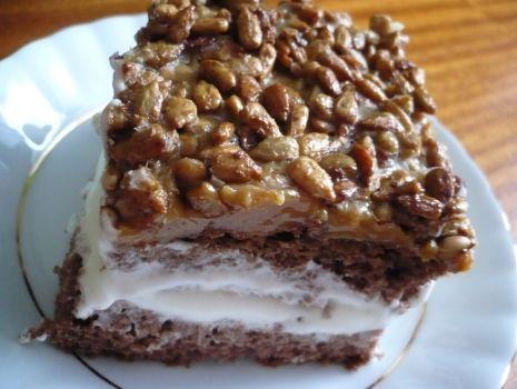 Przepis: Ciasto ze słonecznikiem