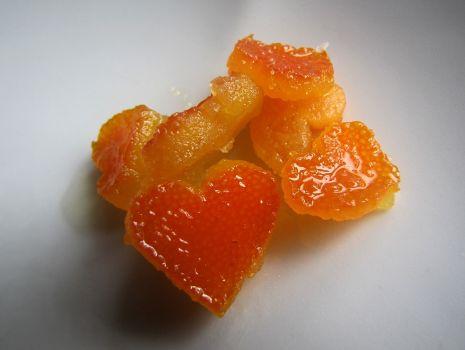 Przepis: Kandyzowana skórka pomarańczowa