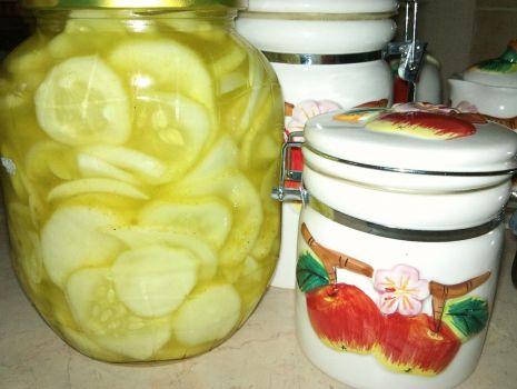Przepis: sałatka z ogórków