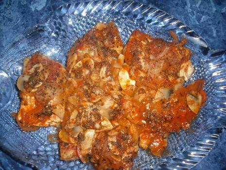 Przepis: Pomidorowa ryba