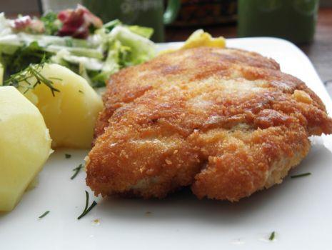 Przepis: Filet z kurczaka-pełny wypas.