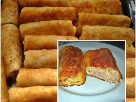 Przepis: Krokiety z kiszoną kapustą i surowym mięsem