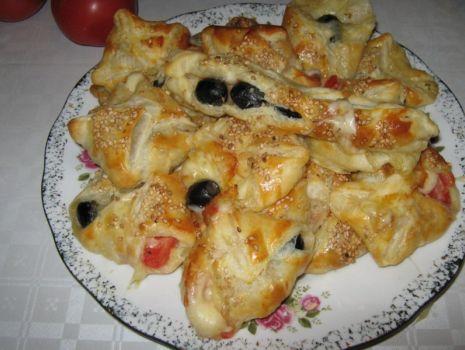 Przepis: Mozzarella w cieście francuskim