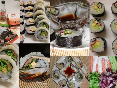 Przepis: California roll i Sushi maki