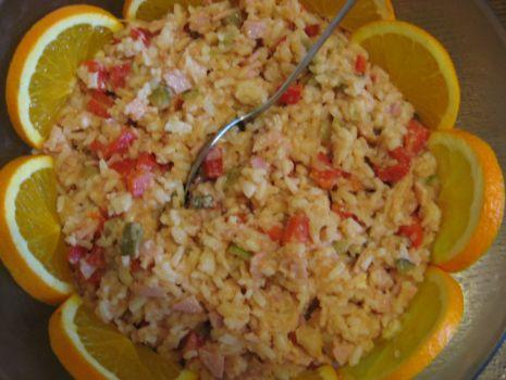 Przepis: Salatka ryzowa z selerem gotowanym