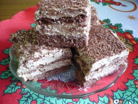 Przepis: Ciasto chałwowe