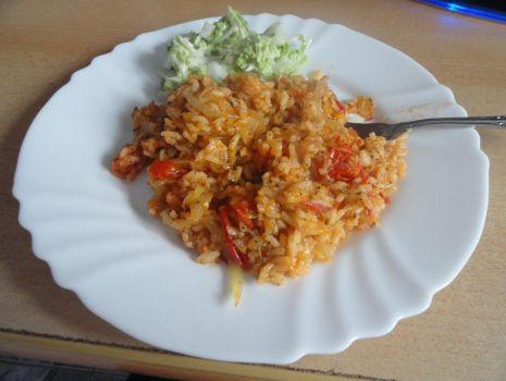 Przepis: Pomidorowy ryż
