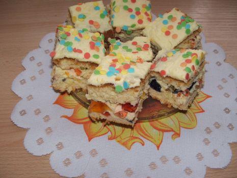 Przepis: Ciasto z galaretkami