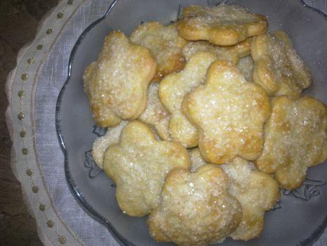 Przepis: Ciasteczka z cukrem