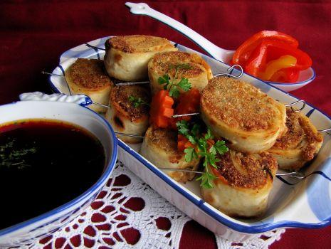 Przepis: Tortilla z kurczakiem i fasolą