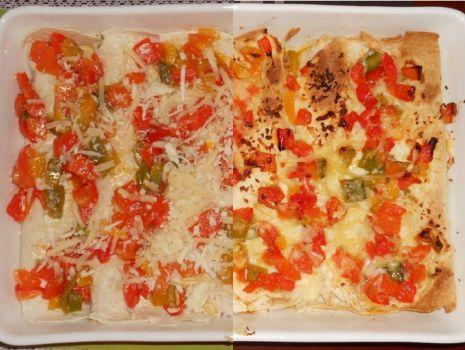 Przepis: Enchiladas z kurczakiem