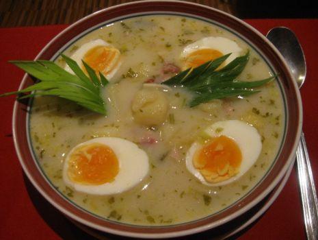 Przepis: Zupa chrzanowa