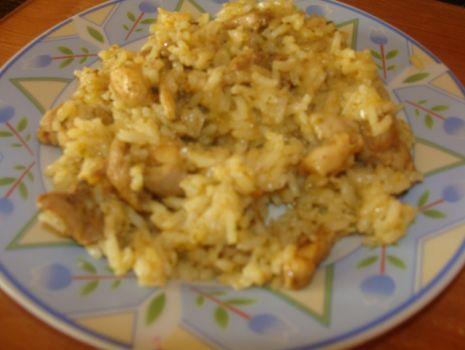 Przepis: Kurczak Kebab-Gyros z ryżem