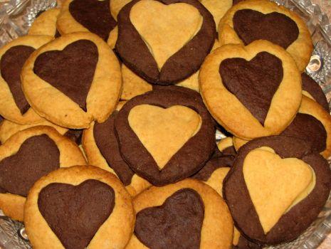 Przepis: Maślane ciasteczka dwukolorowe