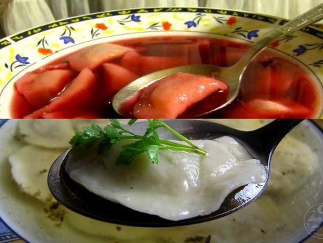 Przepis: Pierożki z mięsem do zup