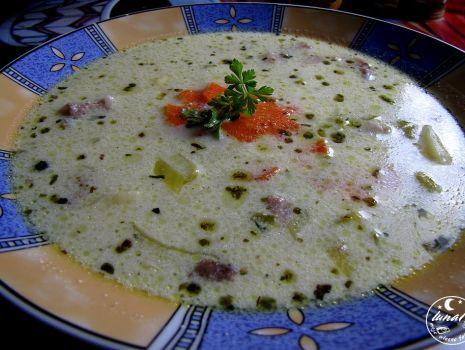 Przepis: Zupa z porów