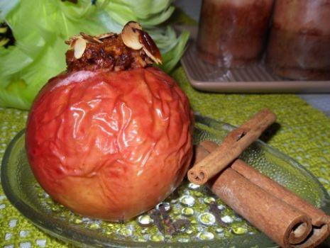 Przepis: Pieczone jabłka z kokosem