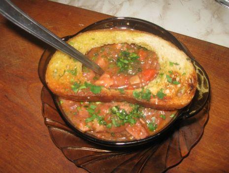Przepis: Eintopf  pożywna zupa gulaszowa