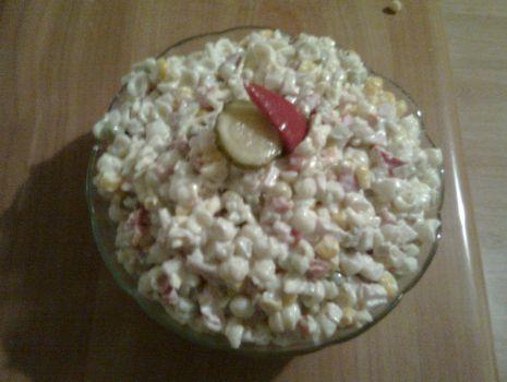 Przepis: Sałatka z makaronem