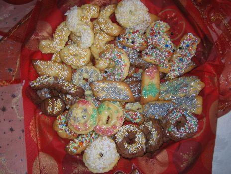 Przepis: Ciasteczka krecone przez maszynke