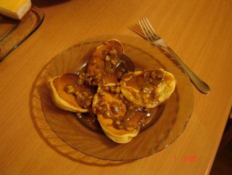 Przepis: Pancakes-czyli amerykańskie naleśniki z sosem karmelowym