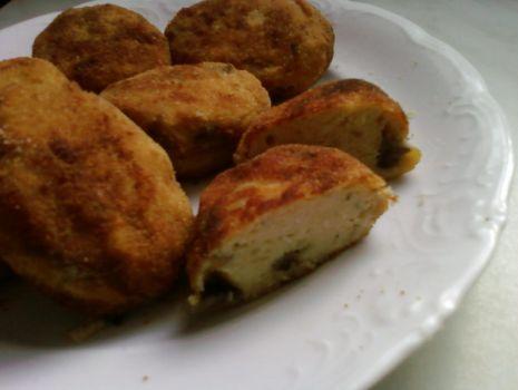 Przepis: Kotleciki ziemniaczane z mięsem