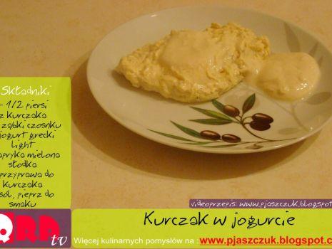 Przepis: Pierś z kurczakiem w jogurcie greckim
