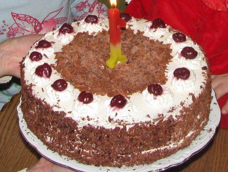 Przepis: tort szwarcwaldzki