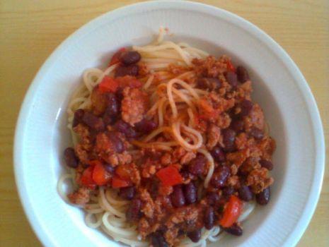 Przepis: Moje spaghetti