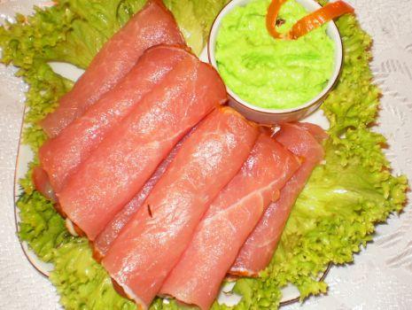 Przepis: Krem z chrzanu Wasabi do mięs :