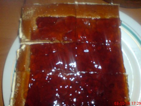 Przepis: Ciasto bursztynowe