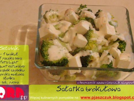 Przepis: Sałatka brokułowa