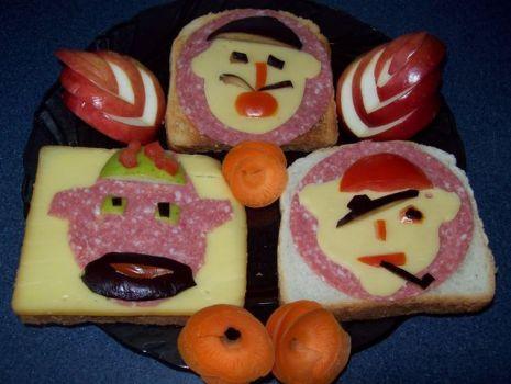Przepis: Pirackie kanapki