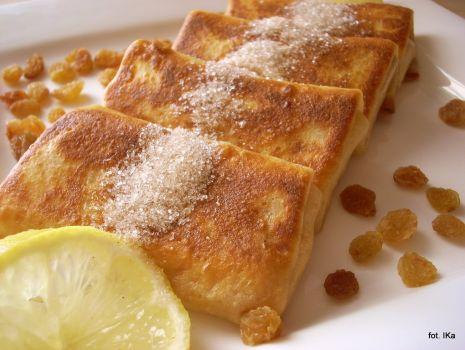 Przepis: Naleśniki z serem