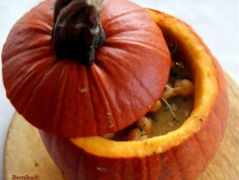 Przepis: Jesienna zupa z dyni