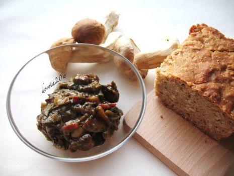 Przepis: Pasta z grzybów leśnych