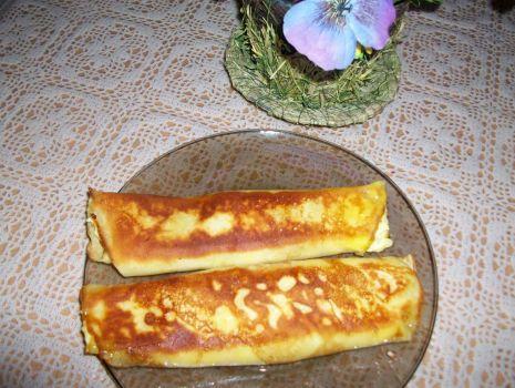 Przepis: naleśniki serowe