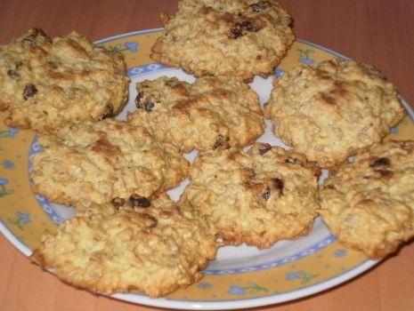 Przepis: Owsiane ciasteczka