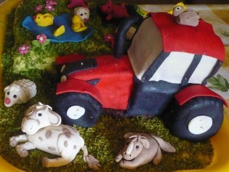 Przepis: Tort Wesoła farma